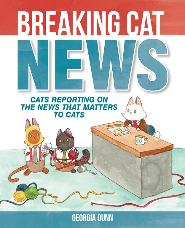 Breaking Cat News Book Cover