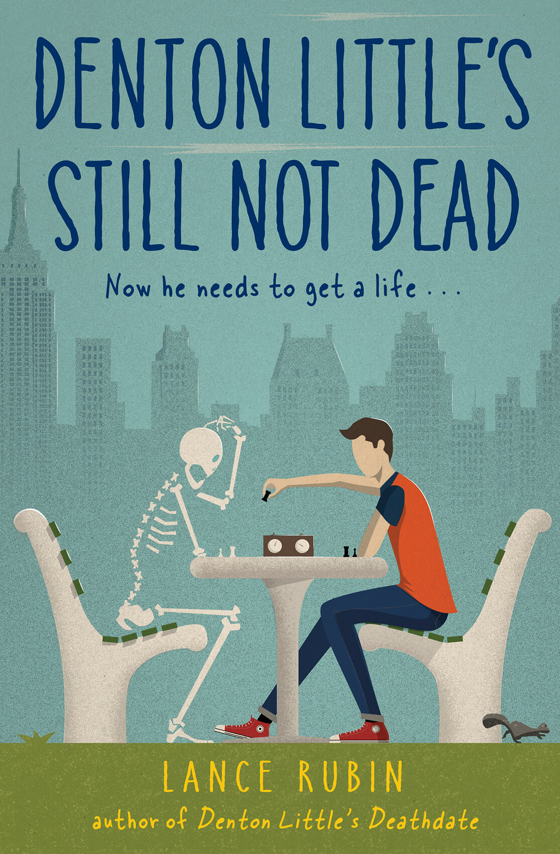 Denton Little's Still Not Dead Book Cover